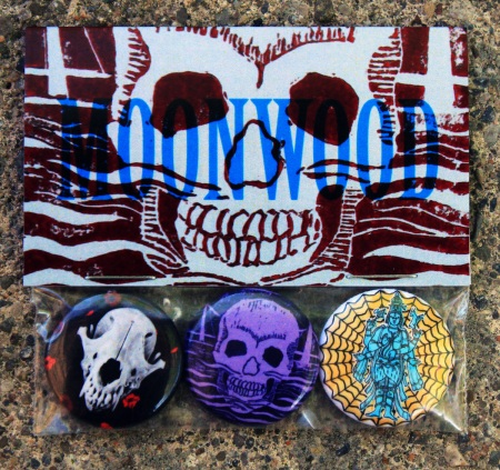 Moonwood wolf pack pin pack