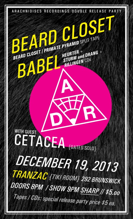 Beard Closet Babel Cetacea